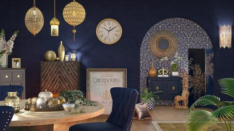 Round Table and Lights - Living room  - by LB1981