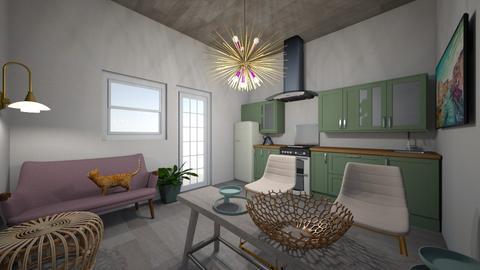 Natalia - Living room  - by NatalieSib