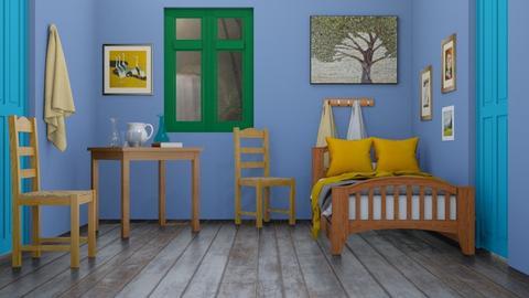 Bedroom in Arles_VVG - by Katjie