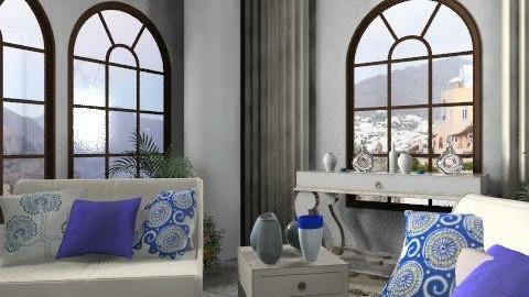 Greece Getaway - Classic - Living room  - by vanessa_designs