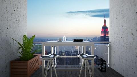 Balcony NY - Modern - by athenae