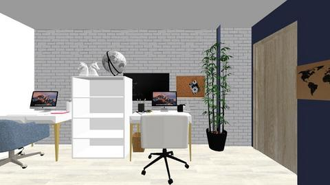 home office - Modern - Office  - by Alinet