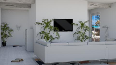 Beach - Modern - Living room  - by DerpyMoggins