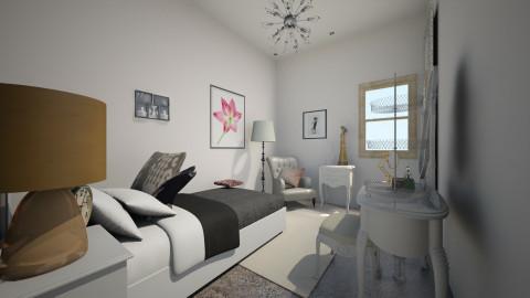 room1 - Vintage - Bedroom  - by garanza