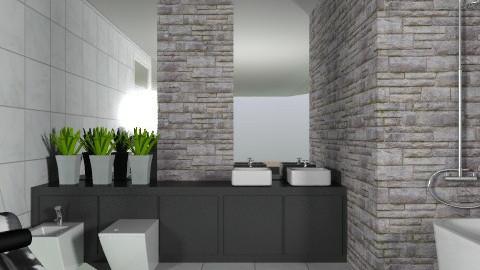 Schist - Modern - Bathroom  - by Carliam