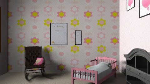 childs room }FEMALE{ - Glamour - Kids room  - by daniela rocks