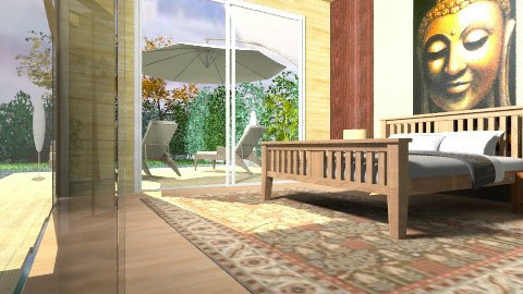 Serene Room - Rustic - by Kavish
