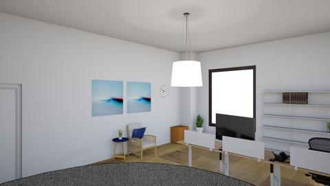 Skrifstofa - Office - by Hrafnildur