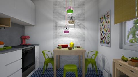 Colorful kitchen - Kitchen  - by Anseva