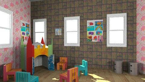 kiddy art room - Modern - Kids room  - by cami910