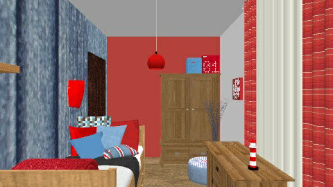 Lazar room - Retro - Kids room  - by babatigrincs