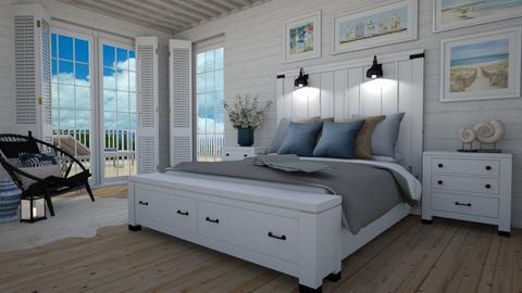 Beach bedroom - Bedroom  - by Thrud45