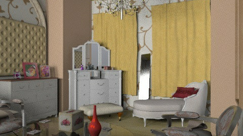 For a lady - Glamour - Bedroom  - by ioanavladut7