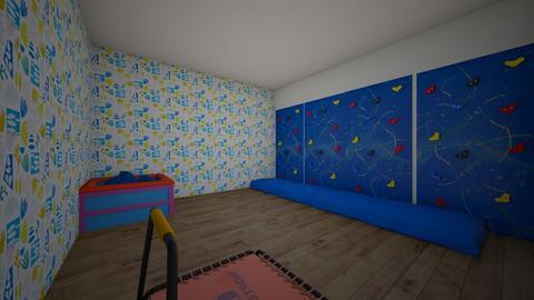 The Climbing Room - Kids room  - by theIrishdog