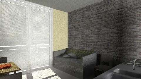 studio space downstairs - Minimal - by jdirking