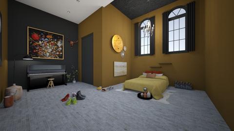 Autum roomer - Bedroom  - by homedisigner