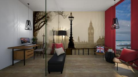 Home Office_London - Office  - by KylaTH