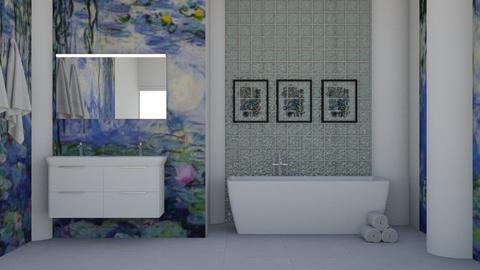 Design_1 - Bathroom  - by adaigio