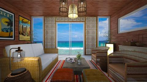 surf living  - Living room - by Kylie Awa