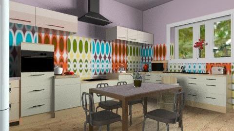 our kitchen overview - Eclectic - Kitchen  - by mrschicken