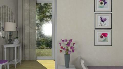 Purple_2 - Glamour - Hallway - by milyca8