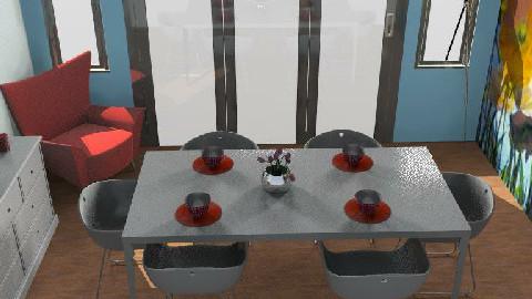 ModernDining - Modern - Dining Room  - by yasemin04