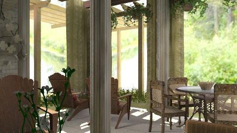 Veranda2 - Classic - Garden  - by PomBom