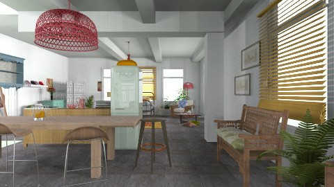 kitchen - Eclectic - Office  - by Dani dance