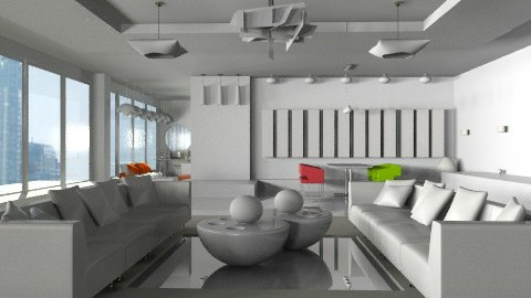 Project A Lobby showroom2 - Modern - Office  - by monicasabile