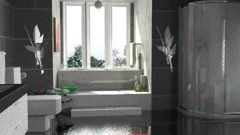 wee bedroom bath - Modern - Bathroom  - by Open Spaces