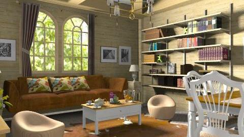 www - Retro - Living room  - by Cejovic Andrijana