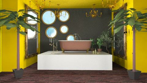 taste of luxury - Glamour - Bathroom  - by cabalian