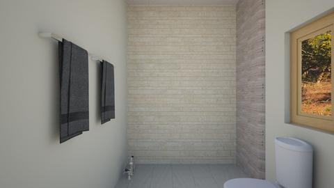 first draft m bathroom - Bathroom  - by trioxyys
