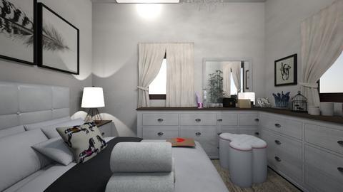 Woody - Bedroom  - by mireyadesign