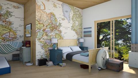 Travelling Still - Bedroom - by ilikalle