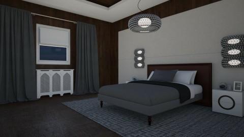 Deco Bedroom - Minimal - Bedroom  - by Kathran