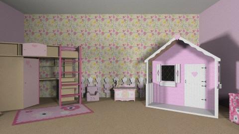 quarto infantil feminino - by Isabelle Araujo