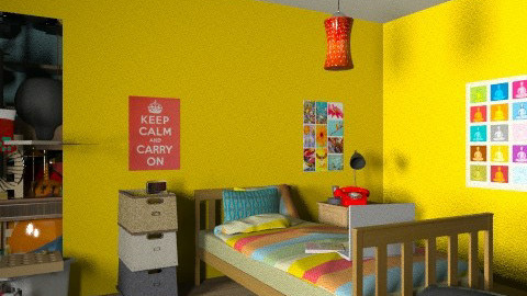 Problem Solved - Eclectic - Bedroom - by muffinswithfrosting
