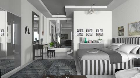 NY Night - Modern - Bedroom  - by milyca8