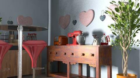 Daniela 6 - Glamour - Kitchen  - by daniraggi