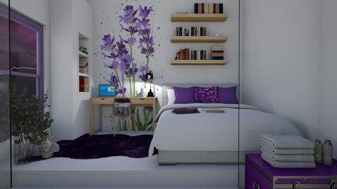 Lavender - Bedroom  - by KittyKat28