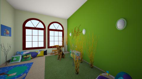 kids room - Bedroom - by cassidyjones1999