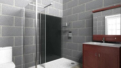 Black Minimalis - Minimal - Bathroom - by adhitaa