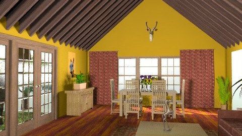 A Horse is a Horse - Rustic - Living room - by mythreesons