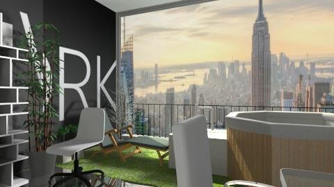 modern office - Modern - Office  - by Sandeep Kondana