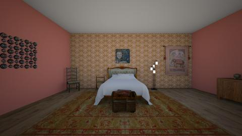 Indian Style Room - Bedroom  - by Naomi10