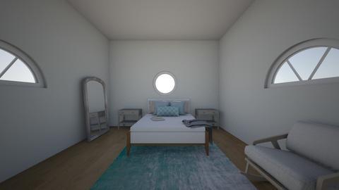 beach style bedroom - by Crocsrule2