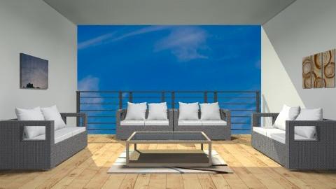 Modern Balcony - Modern - by wajiyh78