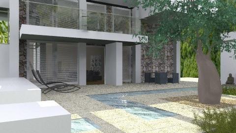 Modern house - Modern - Garden  - by liling