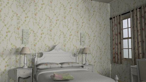 French Bedroom - Country - Bedroom  - by vangoghgrl